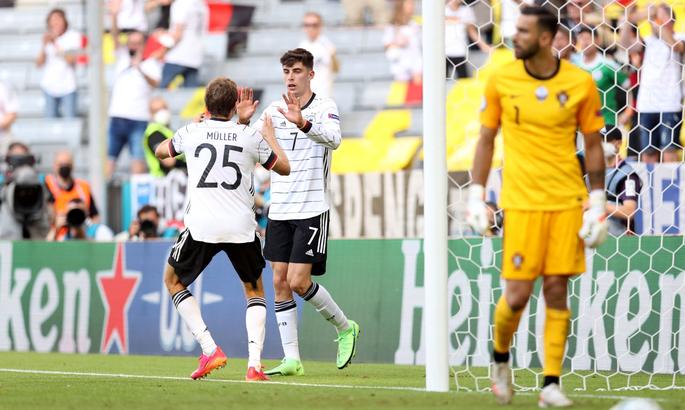 Португалия – Германия. Роналду < «решето» в защите. Немцы побеждают в самом ярком матче Евро-2020