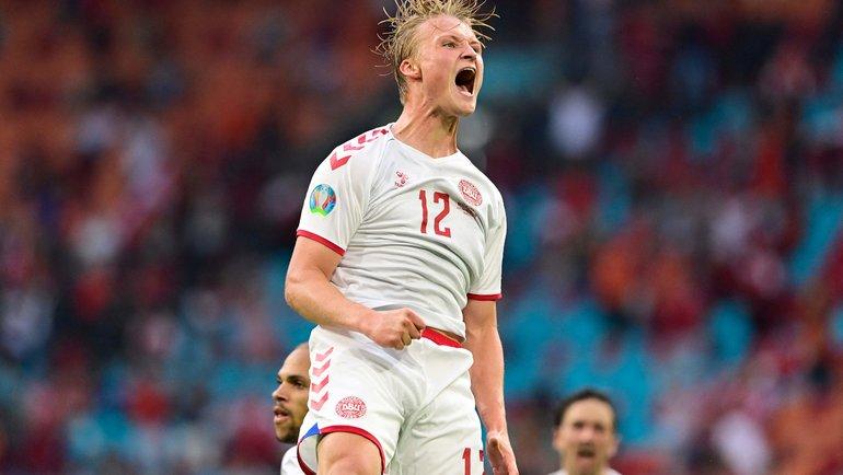 Уэльс - Дания. Сказка для Эриксена - разгром выводит датчан в 1/4 финала Евро-2020