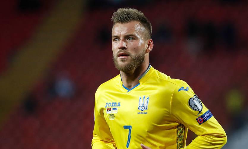 Ярмоленко обошел Шовковского по числу матчей за сборную Украины