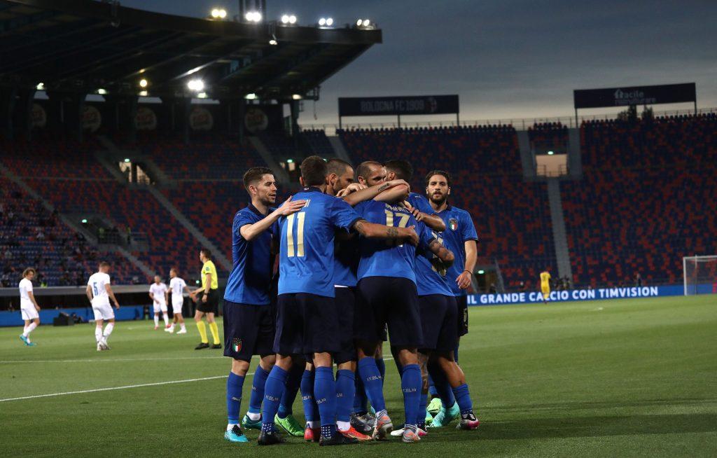Фото – Твиттер сборной Италии