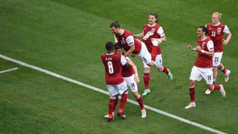 Украина – Австрия. Украина занимает третье место в группе, уступая Австрии. Евро-2020