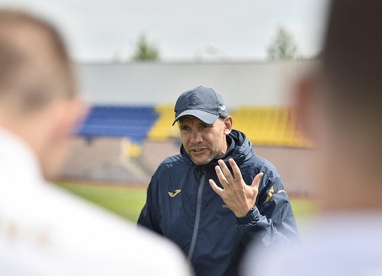 Андрей Шевченко объявил официальную заявку национальной команды на Евро-2020