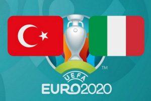 Турция - Италия прогноз матча ЕВРО-2020