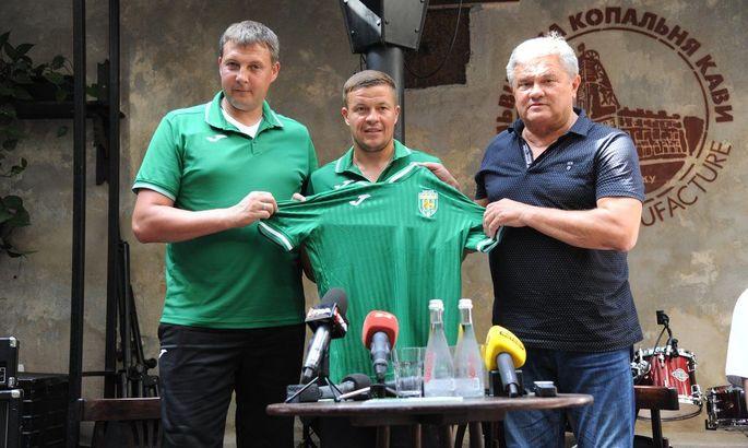 """""""Карпаты"""" Тлумака будут выступать во Второй лиге под традиционной эмблемой"""